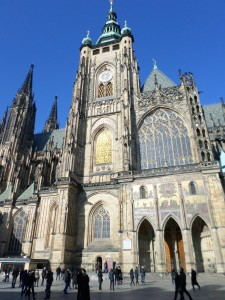 St. Vitus Cathedral main entrance